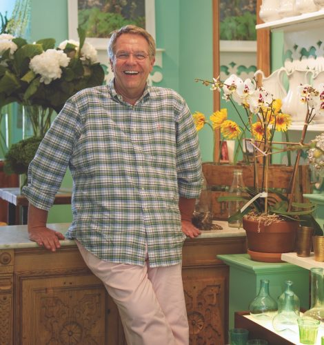 michael grim, the bridgehampton florist