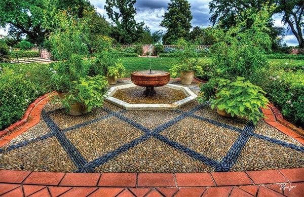Rock Garden at Longue Vue Gardens | Photo Courtesy of Longue Vue Gardens. | Photo by Ryan Lips