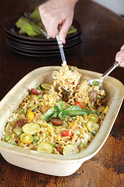 James Farmer recipes, baked pasta