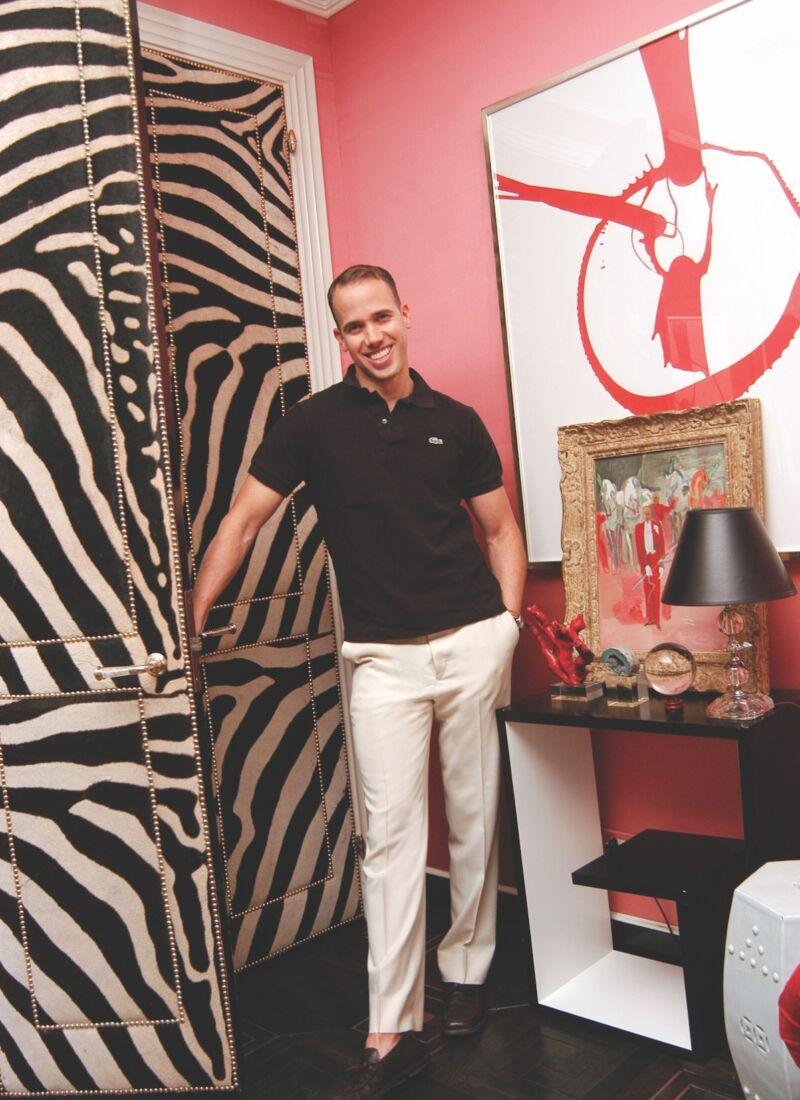 portrait of interior designer Miles Redd