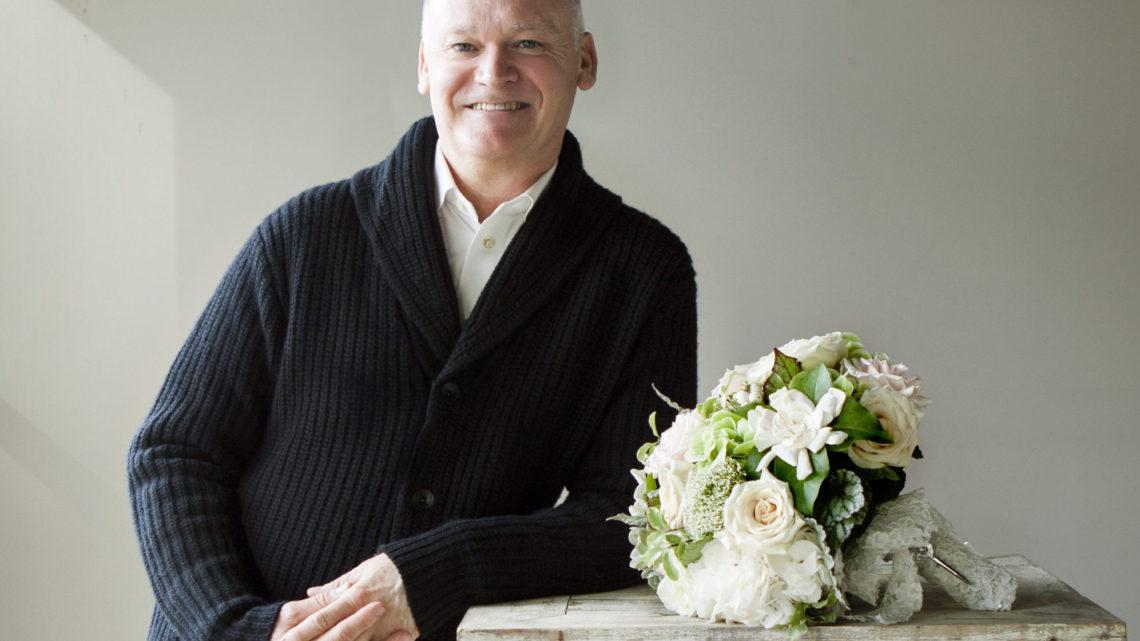 Robert Long romantic bridal bouquet
