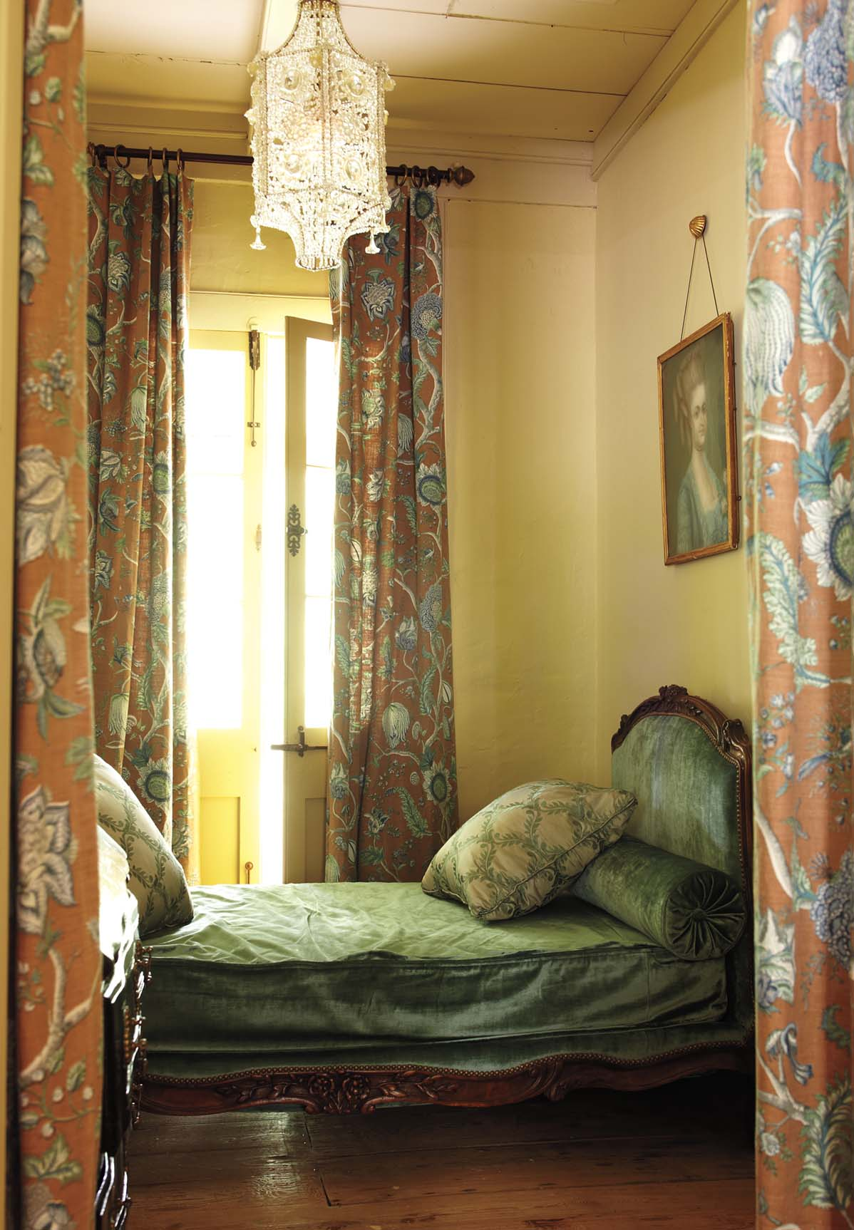 Patrick Dunne interiors, guest room