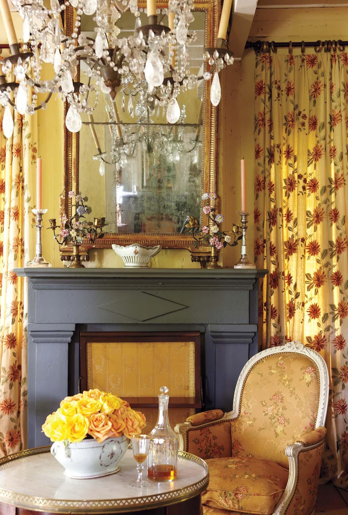 Patrick Dunne interiors, breakfast room