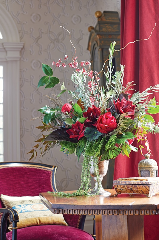 Christmas Party Flowers Flower Magazine Home Lifestyle