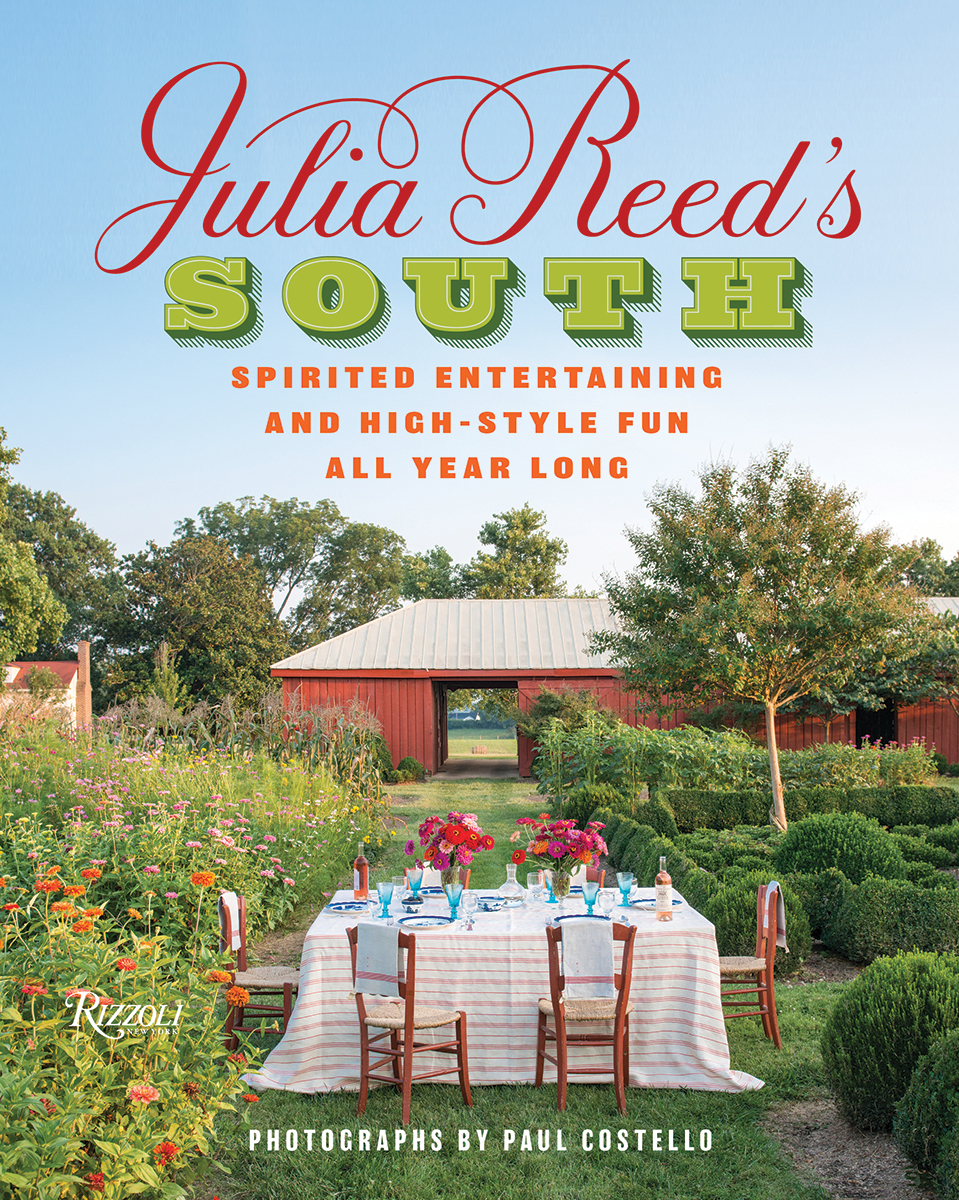 Julia Reed's South book cover