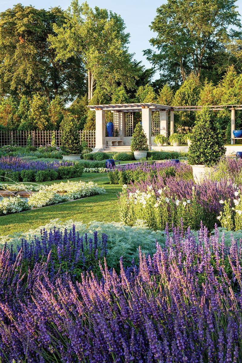 blue garden newport