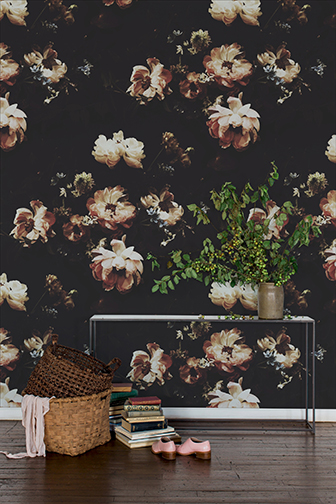 Ashley Woodson Bailey floral wallpaper