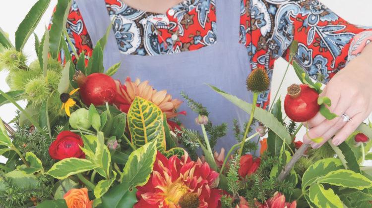 holiday arrangement emily kennedy