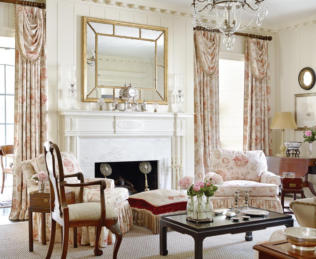 living room designed by Jackye Lanham