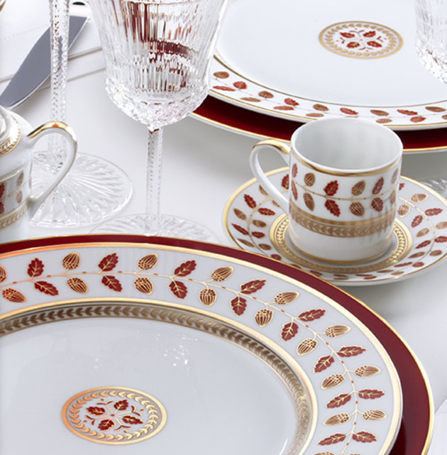 Christmas china patterns