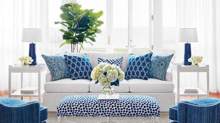 winter blue accessories