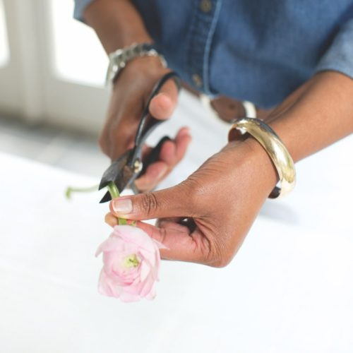 how to make a flower crown, floral crown