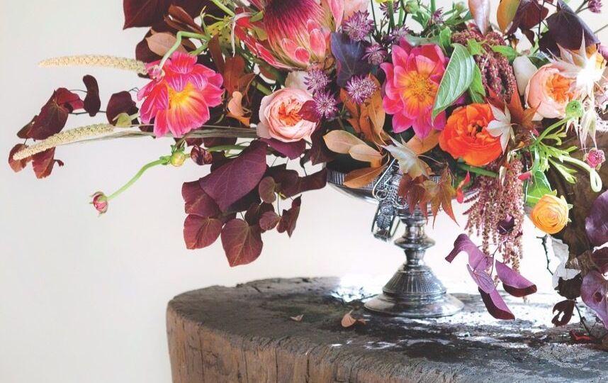 autumn flower arrangement how to