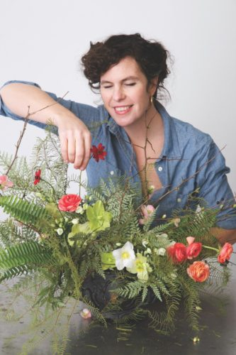 spring forest flower arrangement, Emily Thompson