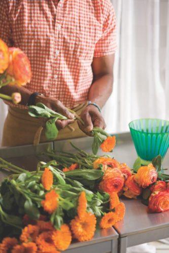 summer flower arrangment