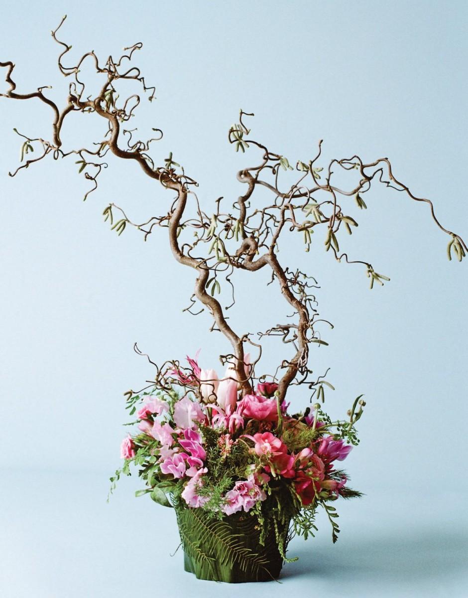 francoise weeks spring arrangements with brances