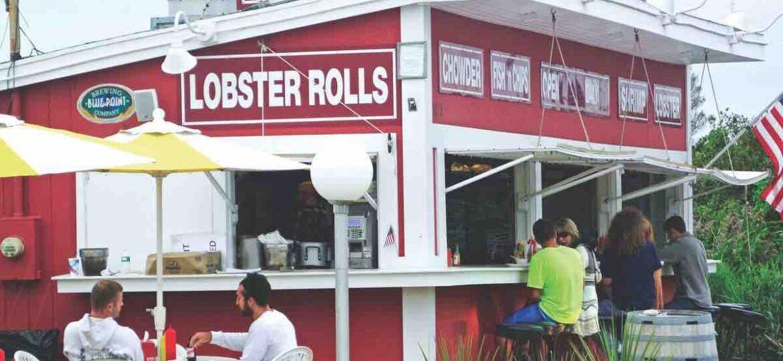 clam bar restaurant in Napeague long island