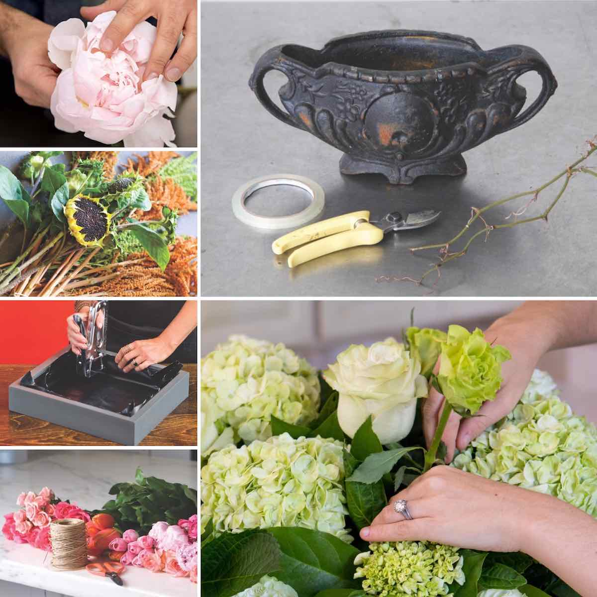 Floral Arrangements How To Do Yourself : Step by arrangements we love flower magazine
