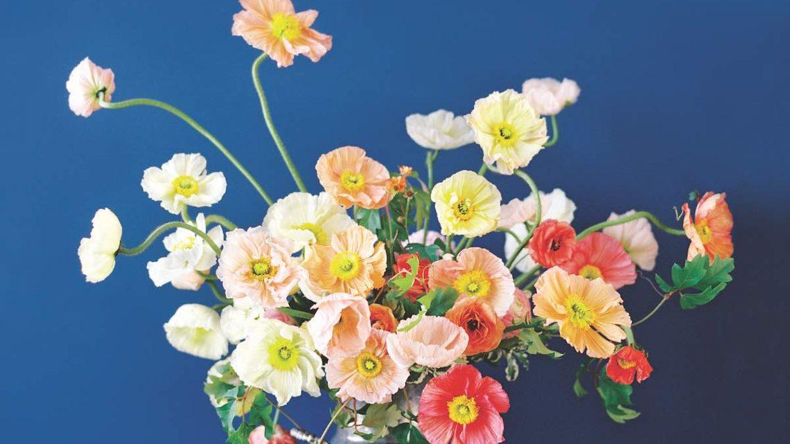 sara winward, perennial flower arrangements