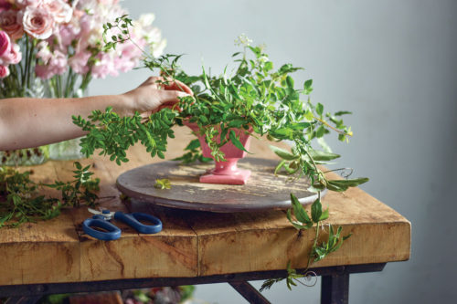 All Pink Arrangement By Ingrid Carozzi Flower Magazine Home