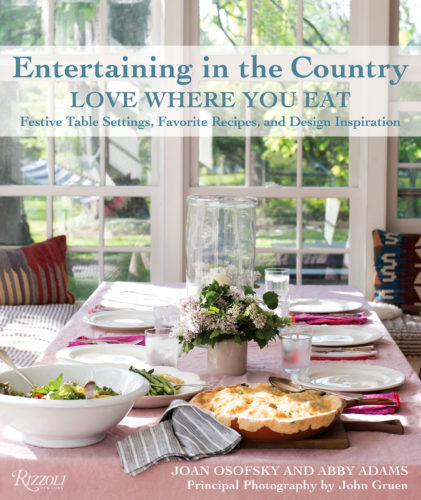 entertaining in the country