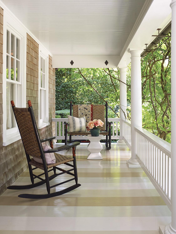 hamptons houses, porch