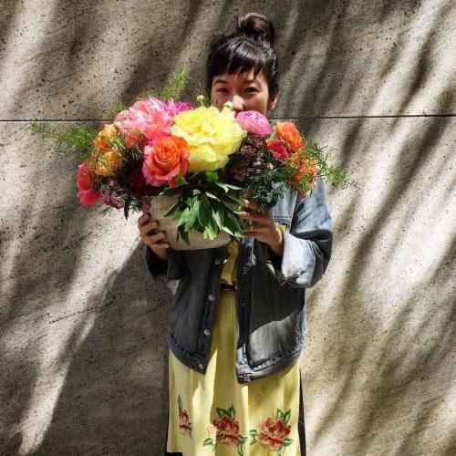 fleursbella, #newyorkerswithflowers