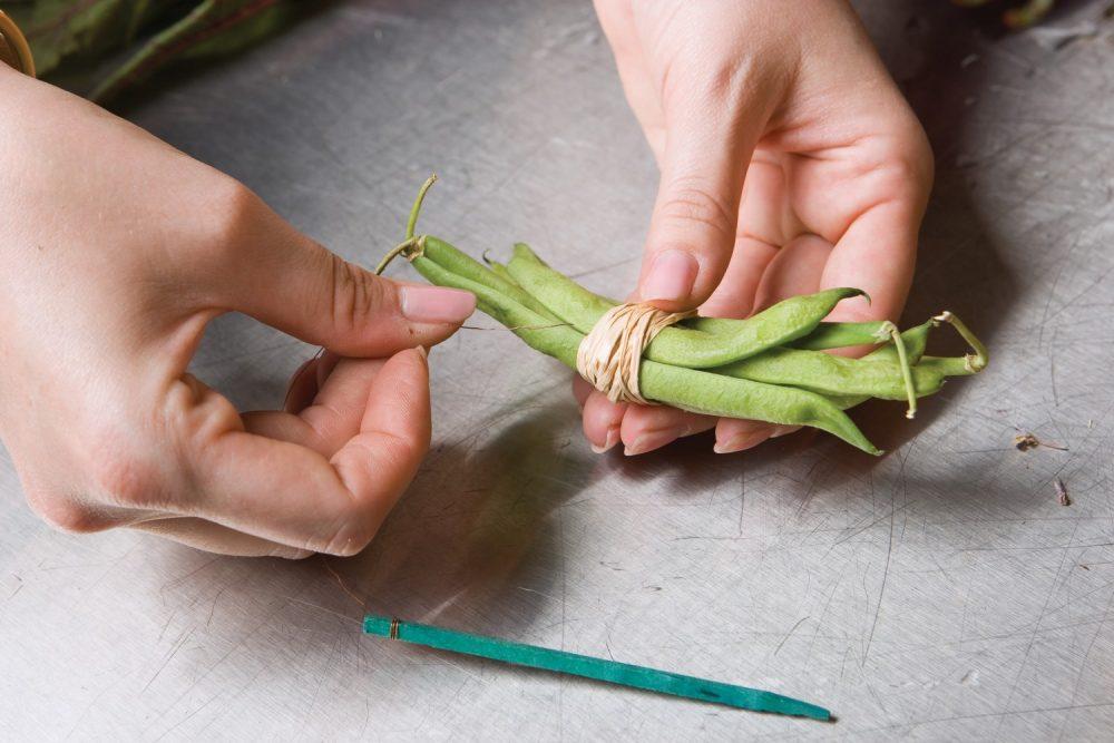 vegetable arrangement how-to