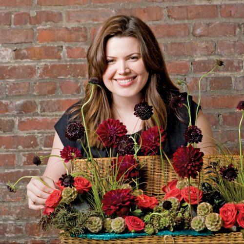 vegetable arrangement, mimi brown