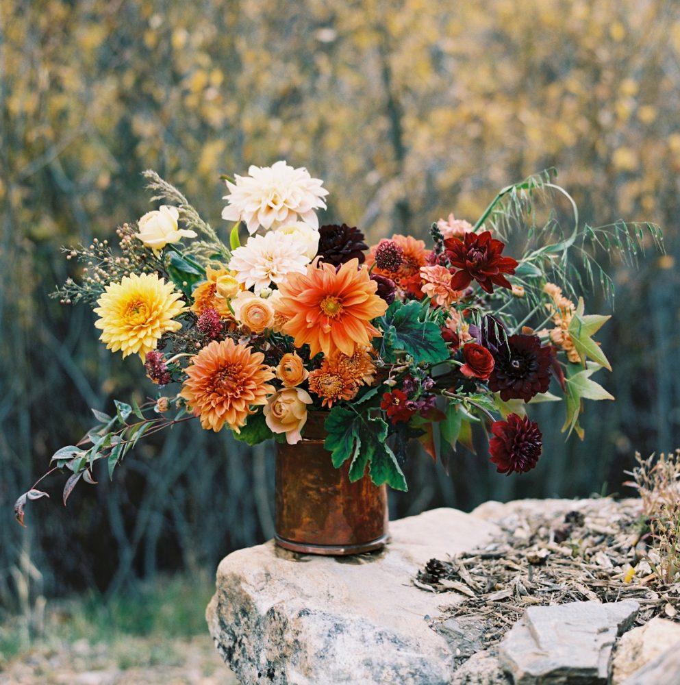 harjeet, dahlia arrangements