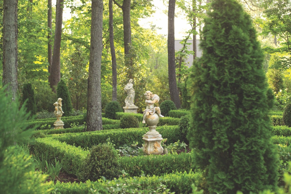 Landscape Design With Statues