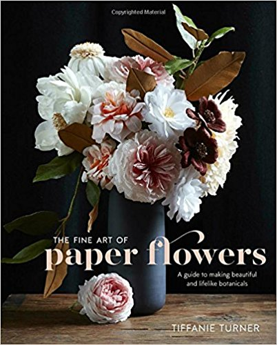 book cover - The Fine Art of Paper Flowers