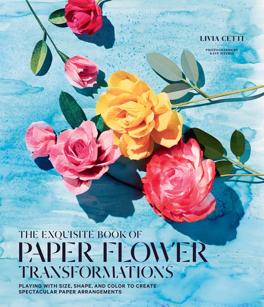 cover for The Exquisite Book of Paper Flower Transformations
