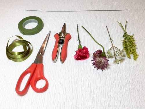 diy flower crown supplies and materials