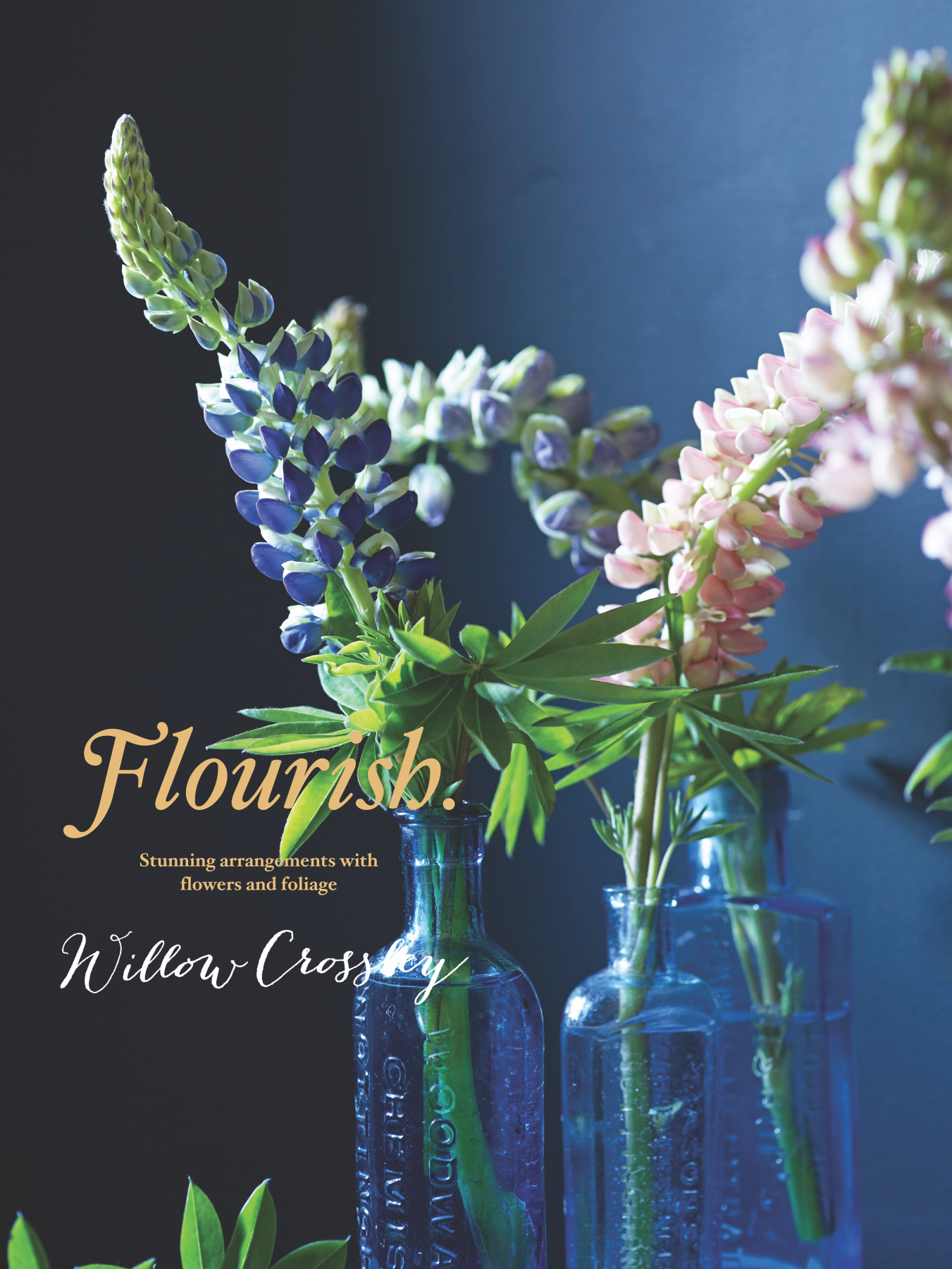 book cover for Flourish by Willow Crossley
