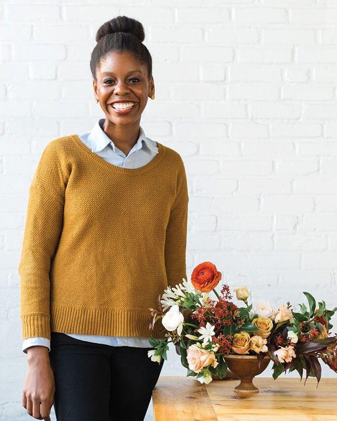 floral designer Kaylyn Hewitt