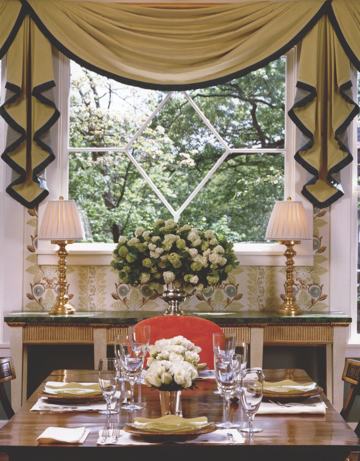 Richard Keith Langham Interior Design Flower Magazine