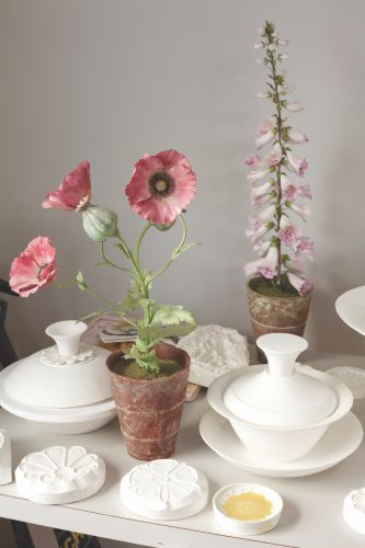 Vladimir Kanevsky, porcelain flowers