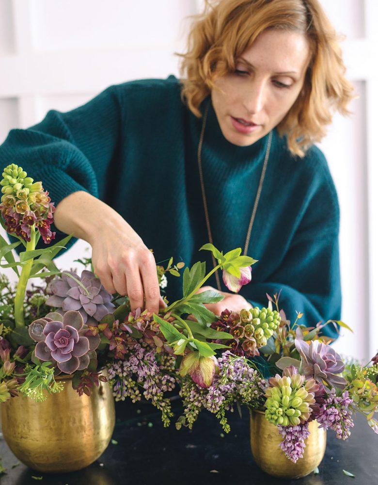 cascading arrangement, Susan McLeary