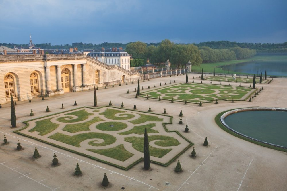 gardens of versailles, orangeries