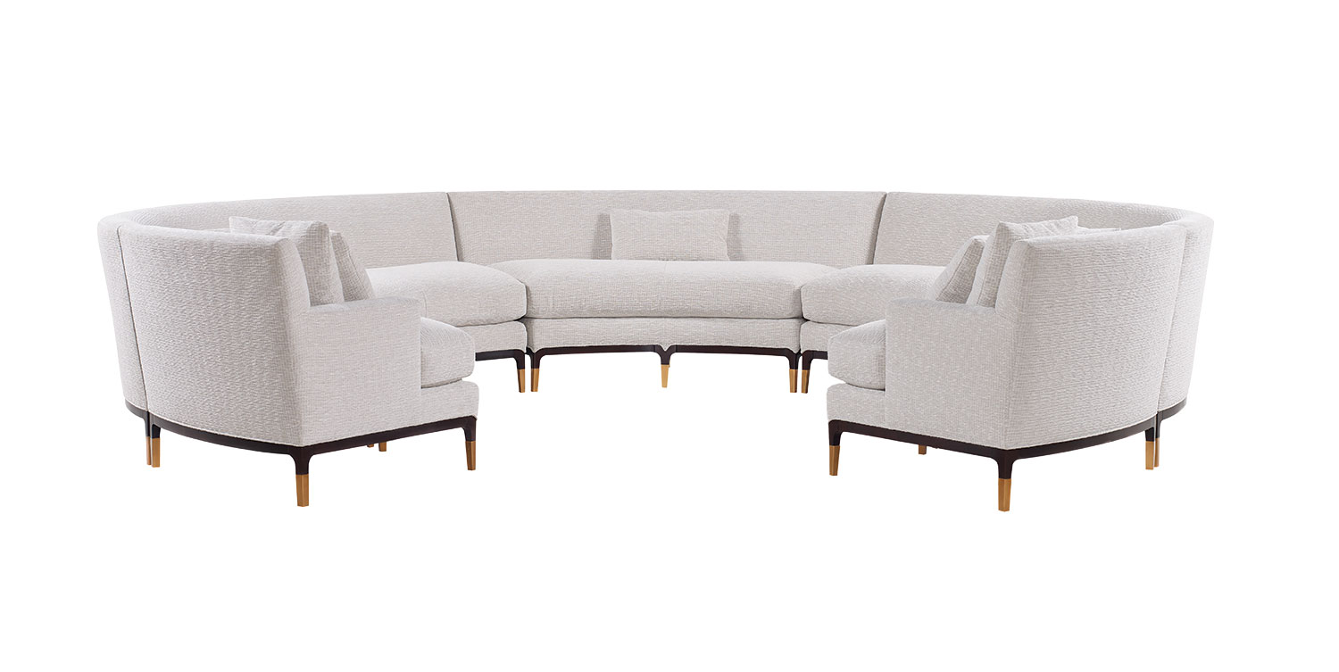 Trend forming in gracefully curved furniture jean louis