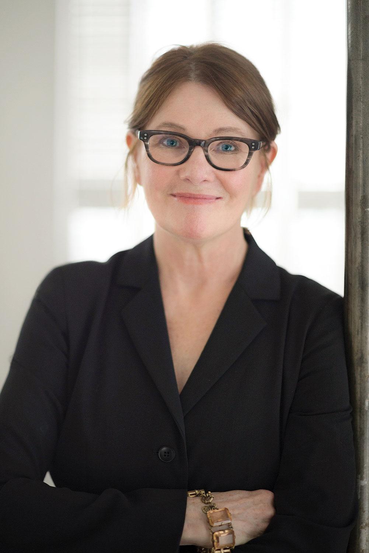 portrait of interior designer Alecia Stevens