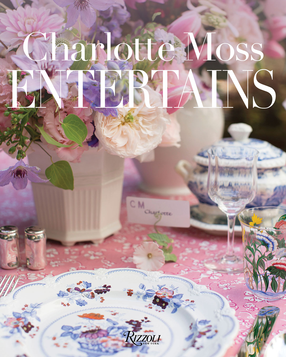 book cover for Charlotte Moss Entertains