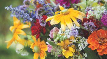 wildflower arrangements