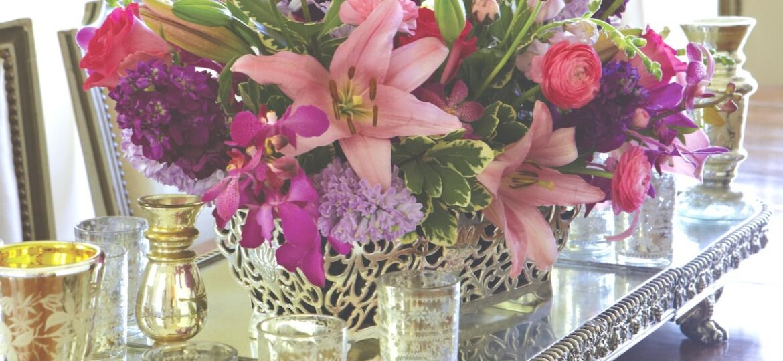 FlowerBuds arrangements, winter color