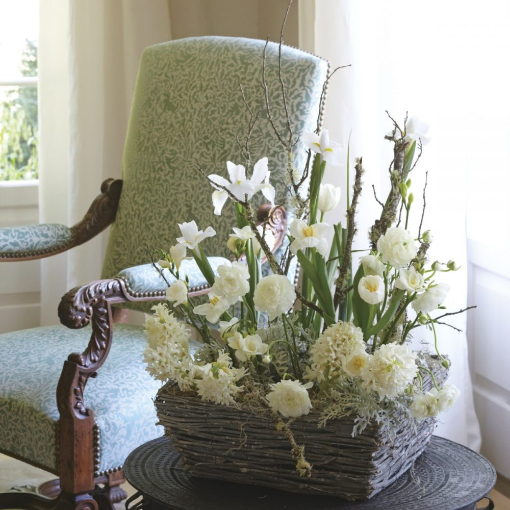 winter color arrangements, FlowerBuds