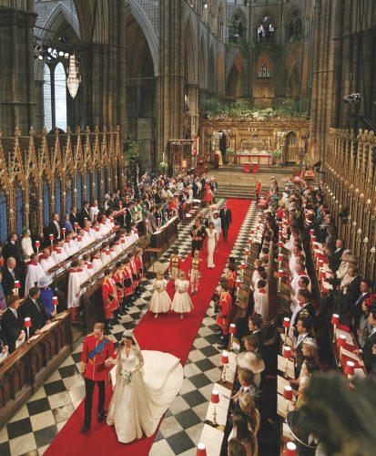 royal weddings, iconic weddings