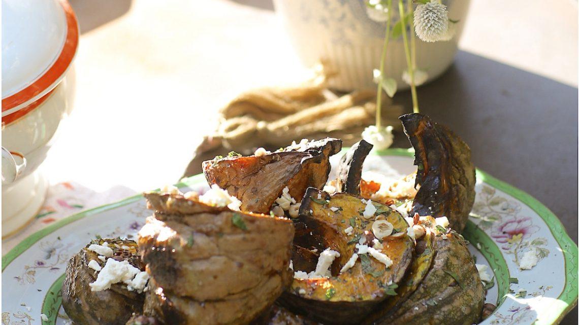 roasted kabocha squash
