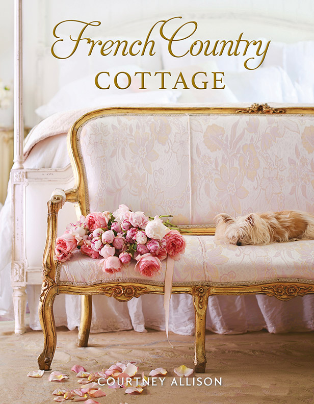 book cover for French Country Cottage by Courtney Allison