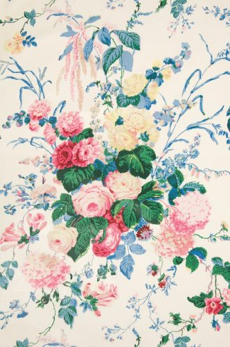 Mario Buatta, Prince of Chintz, floral bouquet chintz